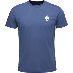 Black Diamond Equipment For Alpinists S/S Tee Men ink blue